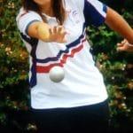 Léa Escoda joueuse de pétanque