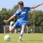 Silvan Serre joueur de football
