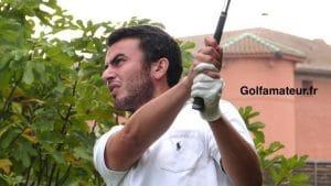 Timothé Gain, joueur de golf Pro